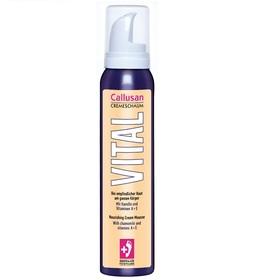 Odżywcza kremowa pianka dla skóry wrażliwej, z rumiankiem i witaminą A+E