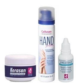 Pielęgnacja suchej i zniszczonej skóry dłoni i paznokci.