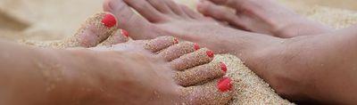 Pękające i suche stopy